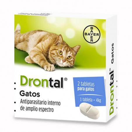 Drontal Gatos 2comprimidos