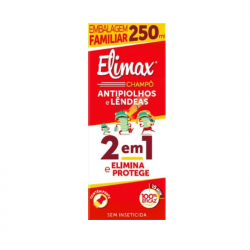 Elimax Champô Anti-Piolhos e Lêndeas 2 em 1 250ml
