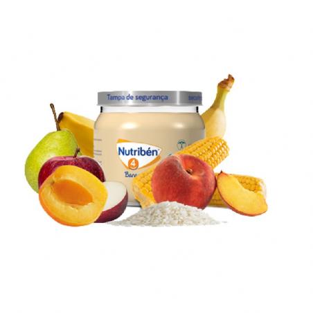 Nutribén Boião 6 Frutas com Cereais 120g