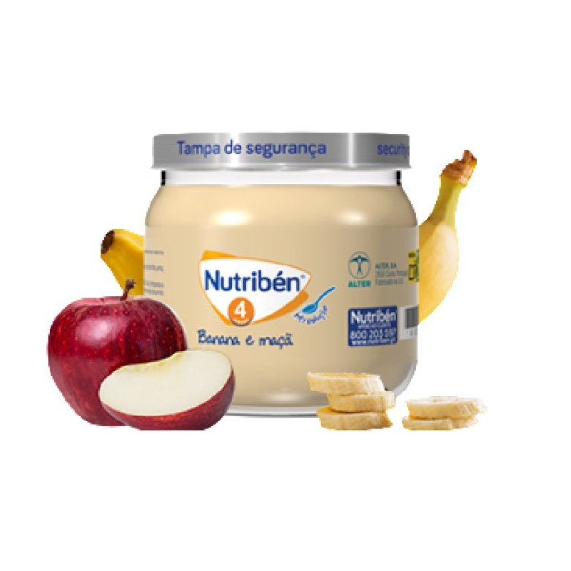 Nutribén Boião Banana e Maçã 120g