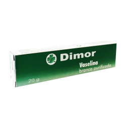Dimor Vaselina Branca Purificada 20g