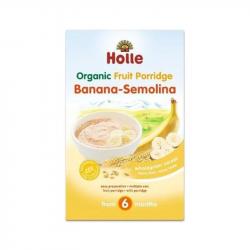 Holle Papa Não Láctea de Banana-Semolina 250g