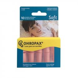 Ohropax Soft Tampões Ouvidos 10unidades