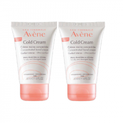 Avène Cold Cream Creme de Mãos Concentrado Duo 2x50ml