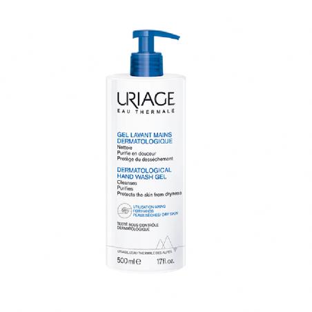 Uriage Gel Dermatológico para Higiene das Mãos 500ml
