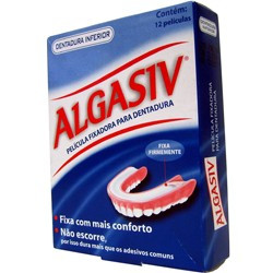 Algasiv Almofada Adesiva Superior 18 unidades