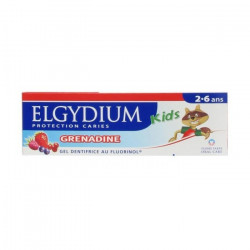 Elgydium Kids Dentífrico Menta Morango 50ml